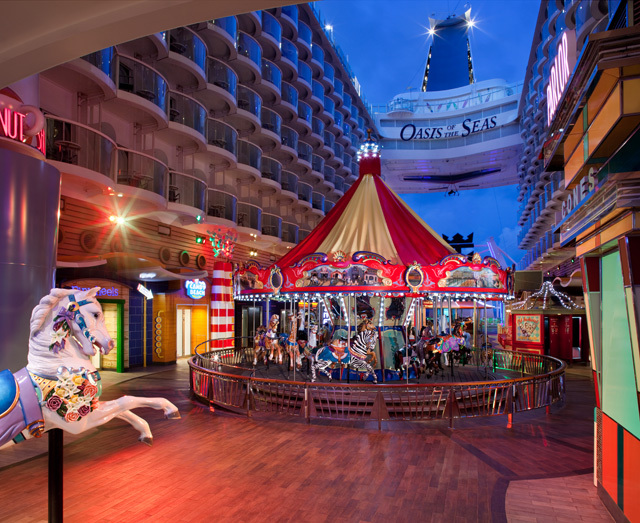 Oasis Of The Seas Carousel